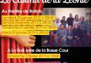 Théâtre avec la troupe de La Roë