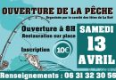 Ouverture de la pêche à La Roë
