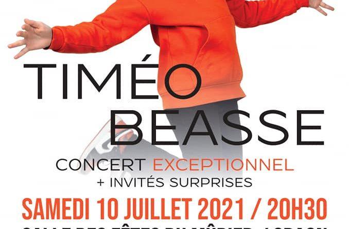 Concert de Timeo Beasse